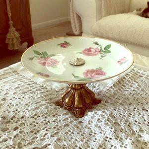 Vintage Cake/Desert Plate Server